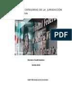 Concepto y Categorías de La Jurisdicción Administrativa