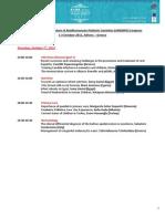 36th Preliminary Scientific Program