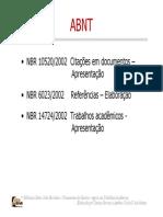 ABNT Manual