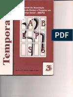241871488 ABEPSS Revista Temporalis n 3 2001 PDF