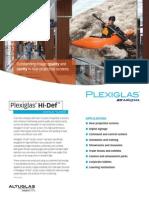 Plexiglas Hi Def