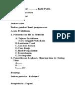 Format Laporan FK 2010