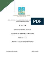 DIAGNOSTICO DE VARIABLES ECONOMICAS EN LA MIPYME DE CIUDAD OBREGÓN, SONORA