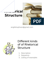 Session 6 Rhetorical Structure