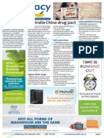 Pharmacy Daily for Wed 09 Sep 2015 - Australia-China drug pact, Pharmacy continence courses, TWC hearing tests, Health AMPERSAND Beauty and much more