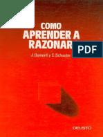 Dumont, Jacques - Como Aprender a Razonar