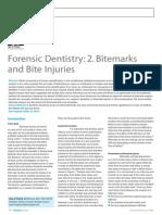 Bitemarks and Bite Injury