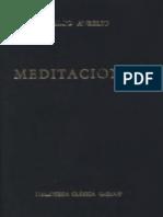 Marco Aurelio, Meditaciones