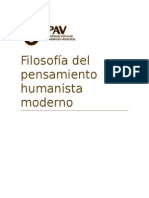 Antologia Filosofia Del Pensamiento Humanista Moderno1