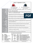 Liberty vs West Virginia Game Notes (9!12!15)