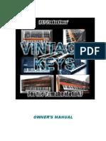 VintageKeysXF Manual