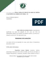 Modelo Primeiras Declarações