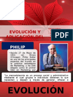 Evolución y Aplicación Del Marketing