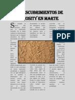 Noticias Marte