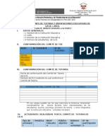 DOCUMENTO N° TOE