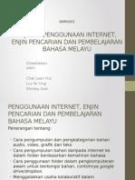 2. Penggunaan Internet, Enjin Carian Bahan Dlm PdP BM(YY,Shirley,Chai)