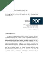 2006 Eugenesia y Educacion en La Argentina