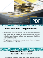 Real Estate and Other Tangible Investment