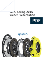 DMC Spring 2015 Project Presentation