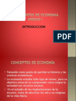 Fundamentos Economia Unidad 1a