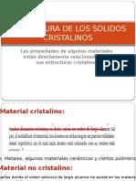 Estructura de Los Solidos Cristalinos