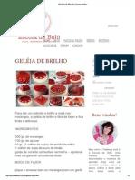 Geléia de Brilho _ Escola de Bolo