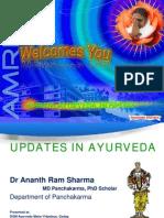 Updates in Ayurveda