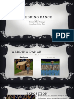 Wedding Dance Plot Diagram Basic
