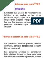 8. Formas Societarias Para Las Mypes