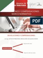 Devoluciones y Compensaciones Marco Normativo- Jorge Estupiñan