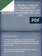 Bradicardia en neurocirugia