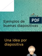 Ejemplos de Buenas Diapositivas