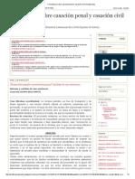 Comentarios Sobre Casación Penal y Casación Civil (Guatemala)