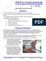 installation of fire pump