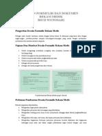 Desain Formulir Dan Dokumen