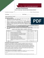 2. Sample Final Exam ADM3301 (2)