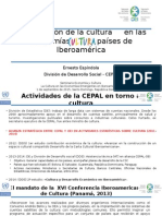 Ernesto Espíndola CEPAL Chile 1sept 2015