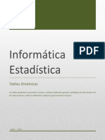 Excel Tablas Dinamicas St