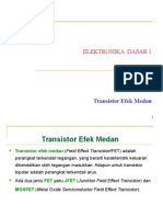 Transistor Efek Medan
