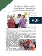 04.10.2013 Comunicado Seguro de Vida a Mujeres