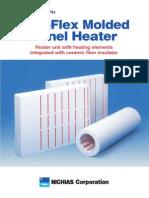 E04 Fine Flex Molded Panel Heater