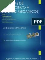 Tecnicas de Diagnostico a Sistemas Mecanicos
