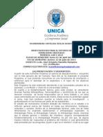 Orientaciones Para Humanismo Presencial LAR I-2013
