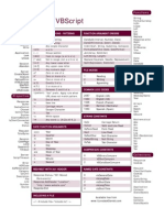 Asp cheat sheet