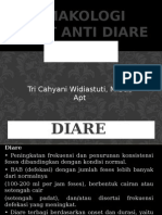 Farmakologi Obat Anti Diare