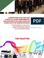 A IMPORTÂNCIA DO USO DAS CARTELAS COMO FERRAMENTAS NO PROJETO DE CONCLUSÃODE CURSO (PCC) DE DESIGN DE MODA