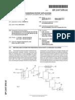 ANEXO 1 EP 2617678 A1 Método y Sistema Para La Preparación de Cloruro de Hidrógeno de Alta Pureza