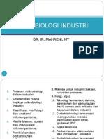 Mikrobiologi Industri - 1.Mikrobiologi Industri (Pengantr)1