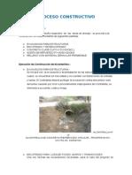 Proceso Constructivo ALCANTARILLA