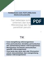 Mikrobiologi Industri - 5.PERTUMBUHAN MIKROORGANISME